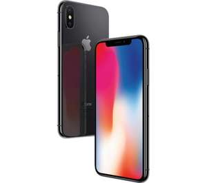 [ebay Plus] Apple iPhone X Smartphone 64GB space grau u. silber Neu
