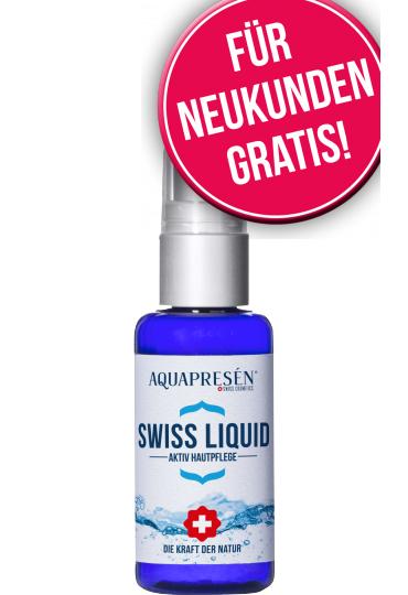 """Swiss Liquid - gratis """"aktiviertes"""" Wasser zum Sprühen"""