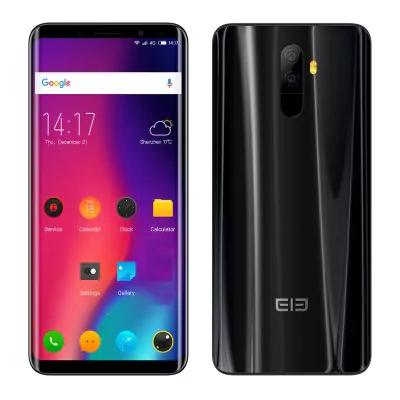 Elephone U Pro Smartphone - 5,99 Zoll -  6GB RAM + 128GB ROM  Schwarz