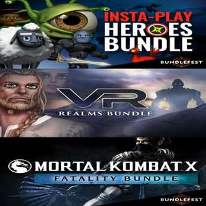 [STEAM] 3 Bundles: Insta-play Heroes / VR Realms / Mortal Kombat X Fatality @ Fanatical / Bundle Stars