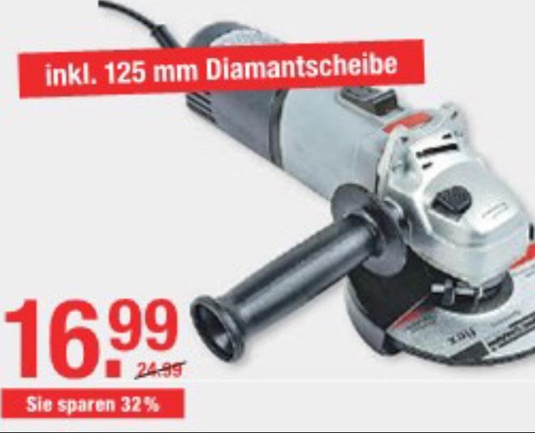 Lokal V-Markt München Mannesmann Einhand Winkelschleifer M12160