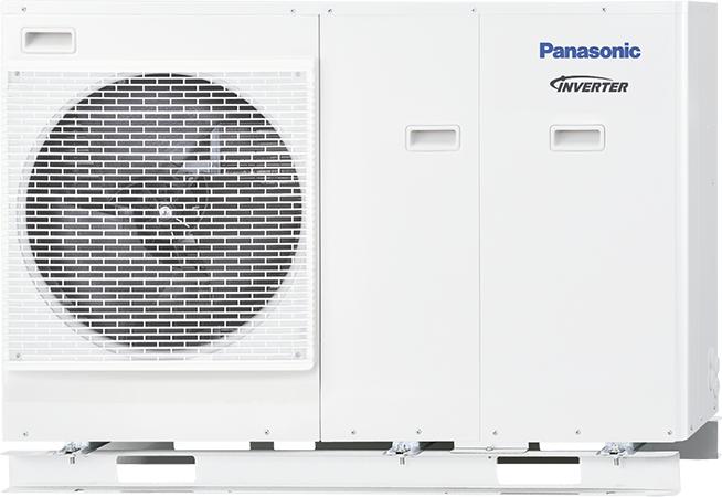 Effiziente Heizung nicht nur für KfW-Häuser ... Panasonic 5 KW Wärmepumpe WH-MDC05H3E5