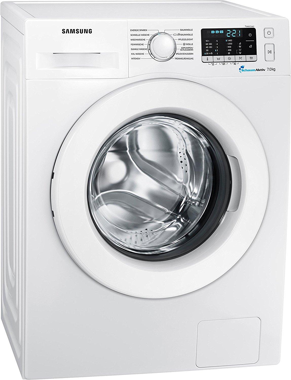 Samsung Waschmaschine WW70J5585MW (7kg,1400U/min,A+++) für 288€ ab morgen [@Medimax]