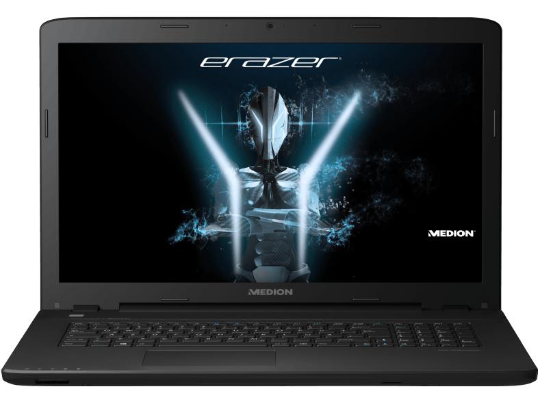 Medion Erazer P7643 Gaming Notebook mit 17.3 Zoll Display, Core™ i5 Prozessor, 8 GB RAM, 512 GB SSD, GeForce GTX 950M