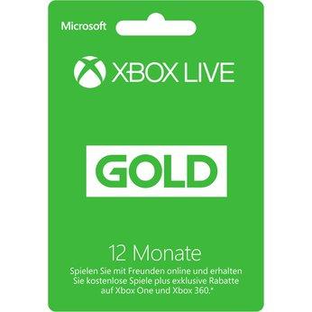 Preisfehler Euronics Microsoft Xbox Live Gold Card 12 Monate