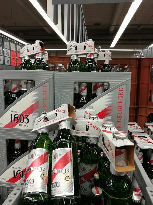 2x 0,33l Heidelberger 1603 Bier im Kaufland in 74889 Sinsheim