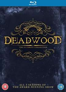 Deadwood: The Ultimate Collection (Blu-ray) für 12,27€ (Zoom.co.uk)