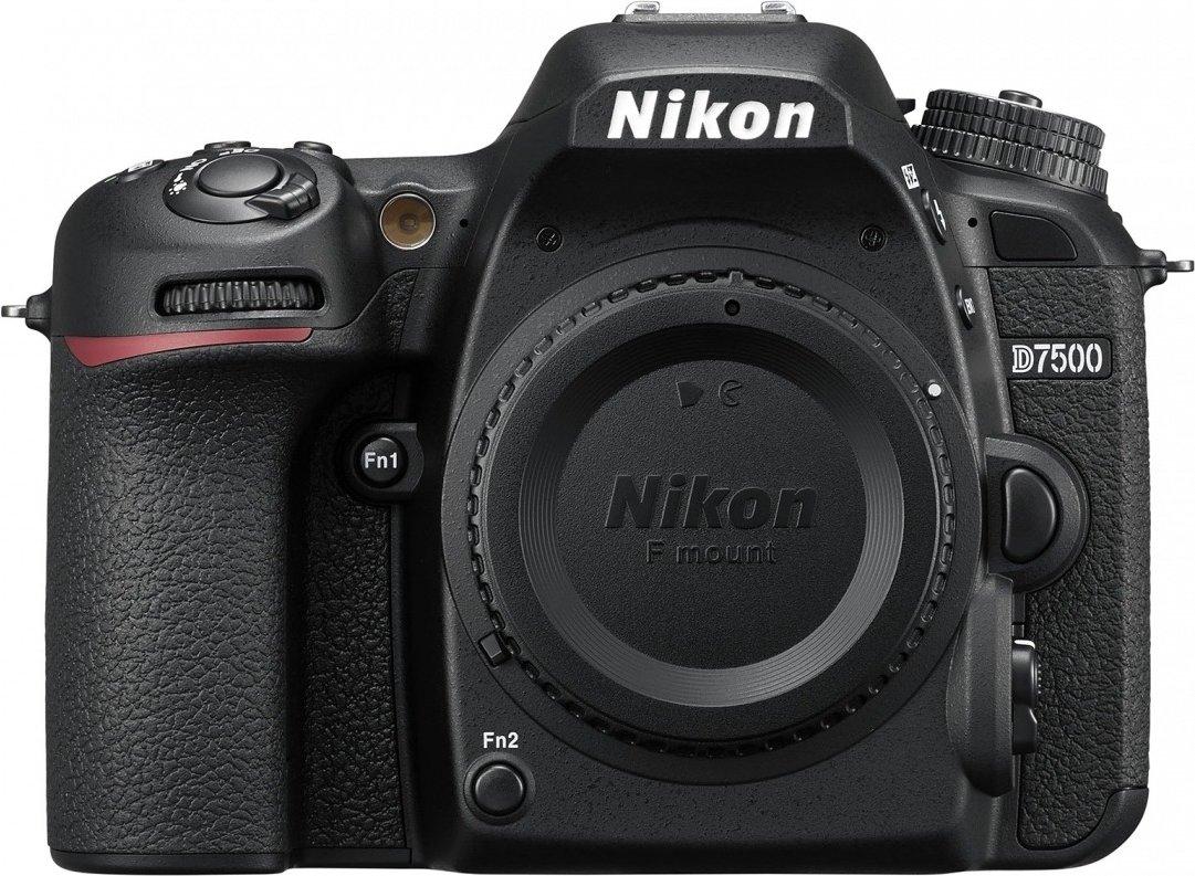 Nikon D7500 - DSLR - 20,9 Megapixel - 4K Video - 51 AF Felder - ISO 100-51200 (Amazon.co.uk)
