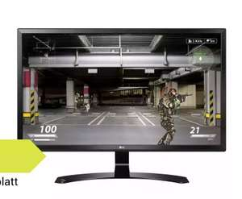 LG 27UD58-B - 69 cm (27 Zoll), LED, 4K UHD, IPS-Panel, AMD FreeSync, 2x HDMI