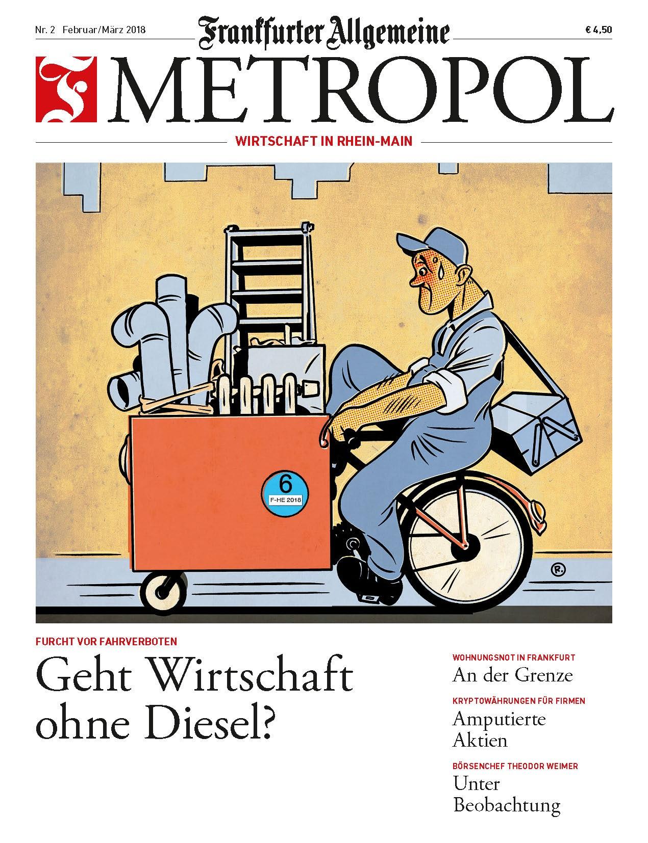[RHEIN-MAIN] ABO der Neuen Wirtschaftszeitung für Rhein-Main - F.A.Z: Metropol für LAU