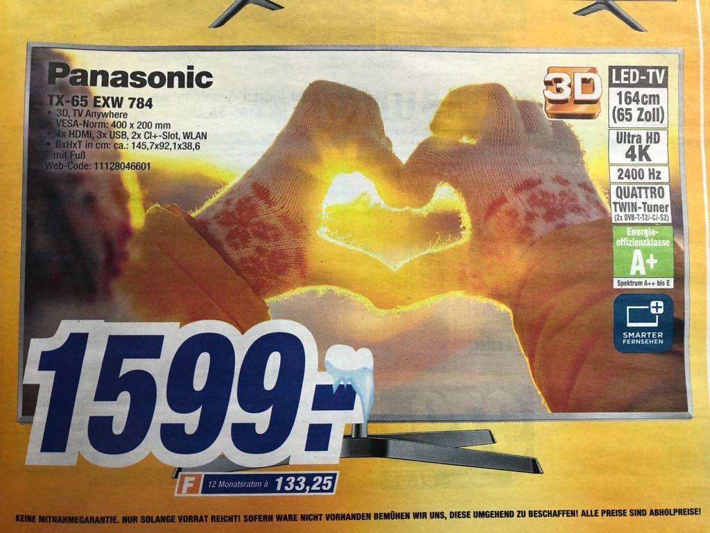 Panasonic TX-65 EXW 784