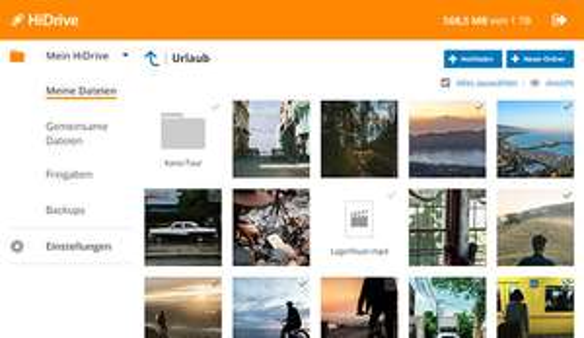 500 GB HiDrive zum Aktionspreis von 5 € bei STRATO