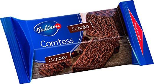 Bahlsen Comtess Kuchen versch. Sorten 350g für 0,99€ bei Jawoll und Zimmermann