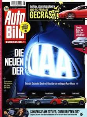 """13 Ausgaben """"Auto Bild"""" für 29,90€ + 29,90€ als Verrechnungsscheck"""