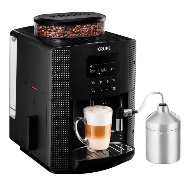 Krups EA 8160 Kaffeevollautomat schwarz