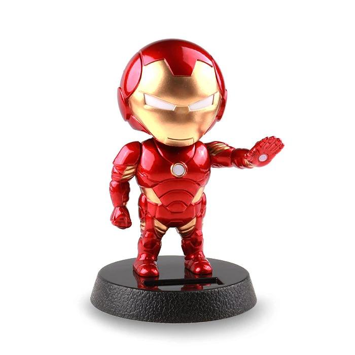 Iron Man dekorative Stehfigur Miniaturfigur (kopfschüttelfunktion)