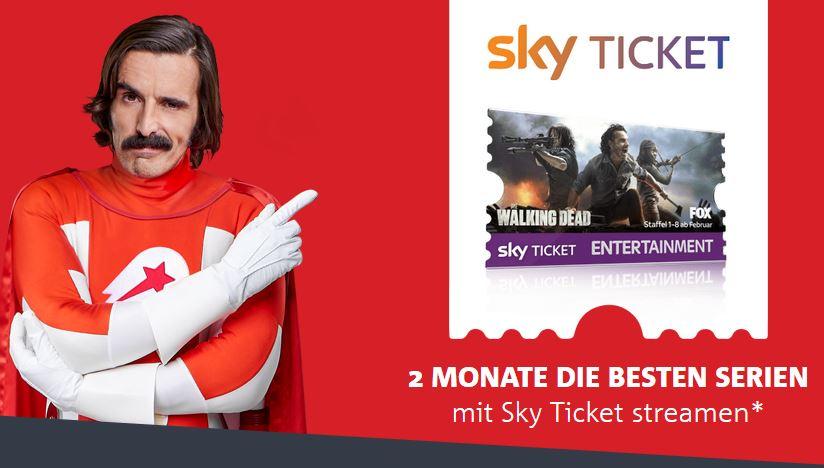 [Lieferheld] Bestellen und 2 Monate Sky Entertainment Ticket gratis bekommen