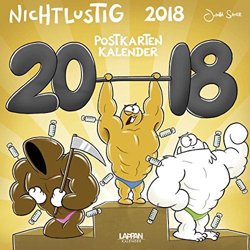 [Amazon Prime] Nicht Lustig Postkartenkalender 2018