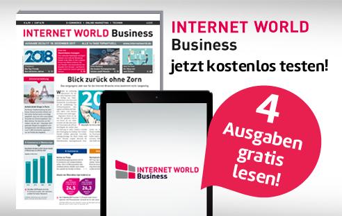 Internet World Business 2 Monate gratis Probelesen