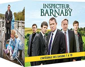[Amazon.fr] Inspector Barnaby Staffel 1-19, Komplettbox, O-Ton