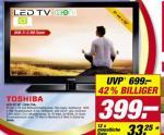 """[Lokal] Toshiba 32"""" 32SL738 LED-TV für 399€ beim Toom Verbrauchermarkt"""