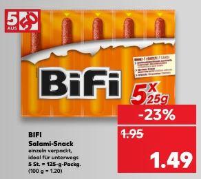 [Kaufland ab 01.03.] 5er BiFi Original für 0,89€ bzw. 0,99€ (z.T. 5+1gratis Packungen)
