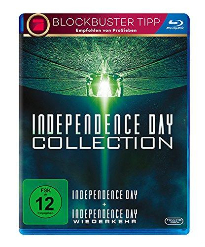 Independence Day + Independence Day: Wiederkehr (Blu-ray) für 12€ versandkostenfrei (Media Markt)