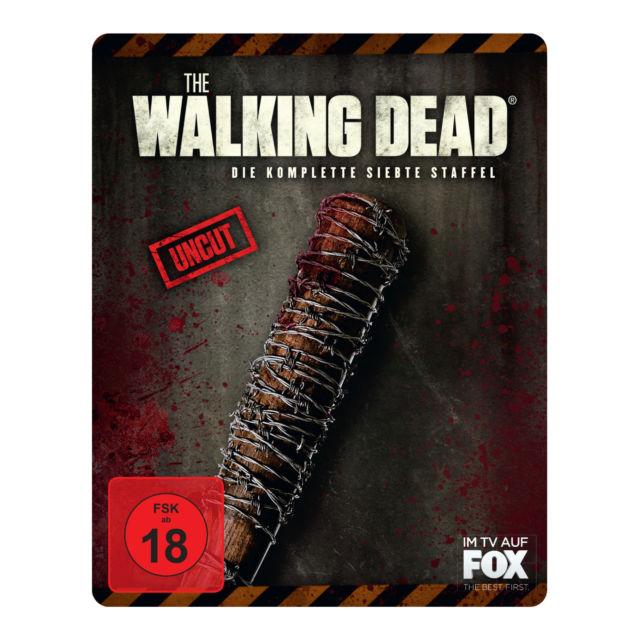 The Walking Dead - Staffel 7 Steelbook Edition (Blu-ray) für 20€  versandkostenfrei (Media Markt)