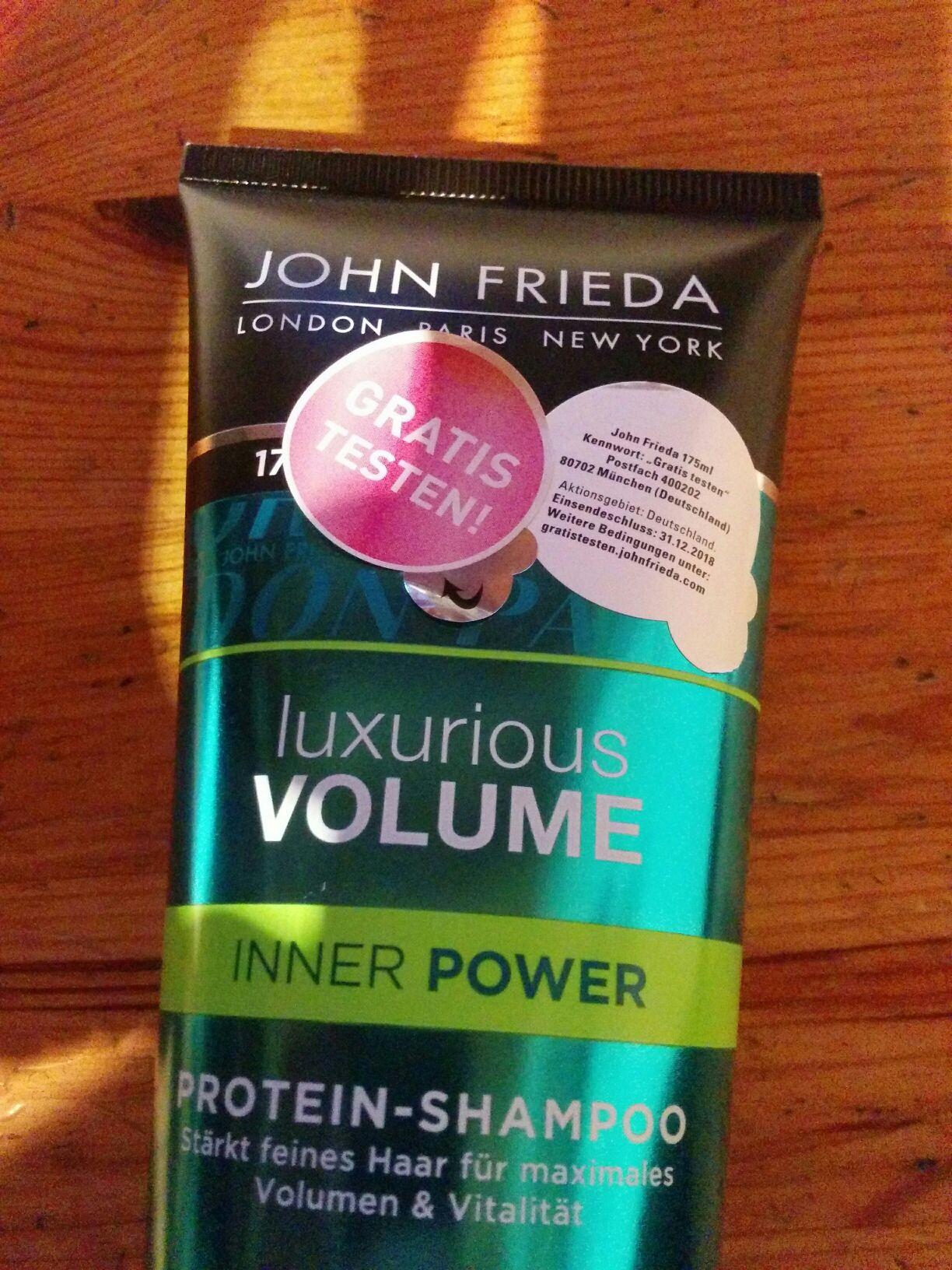 (GzG) John Frieda Shampoos Gratis Testen