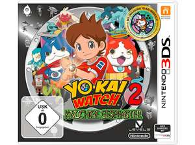 [MediaMarkt] Yo-Kai Watch 2 - Knochige Gespenster (+ Medaille) [Nintendo 3DS]