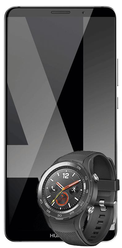 Mate 10 Pro + Smart Watch 2 Mobilcom Vodafone 8GB für mtl. 36,99 €