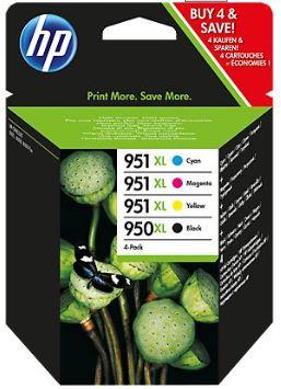 [HP] bis zu 45€ Cashback bei Kauf von HP 950/951XL Original Ink Cartridges / Tintenpatronen
