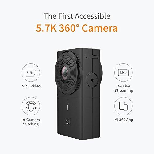 Amazon: YI 360 VR Kamera, Elektronische Bildstabilisierung EIS, 4K