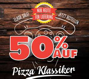 [Lokal Dominos] 50% auf alle Pizza-Klassiker