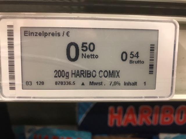 [Metro Frankfurt am Main-Rödelheim) - Haribo Comix (200 g) Euro 0,54