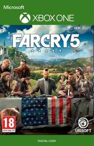 Far Cry 5 (XBox One Digital Code) für 43,69€ (CDKeys) oder für 36,39€ (Xbox Store AR VPN)