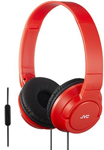 [Amazon] JVC HA-SR185 Kopfhörer bunte Ohrhörer rot oder blau