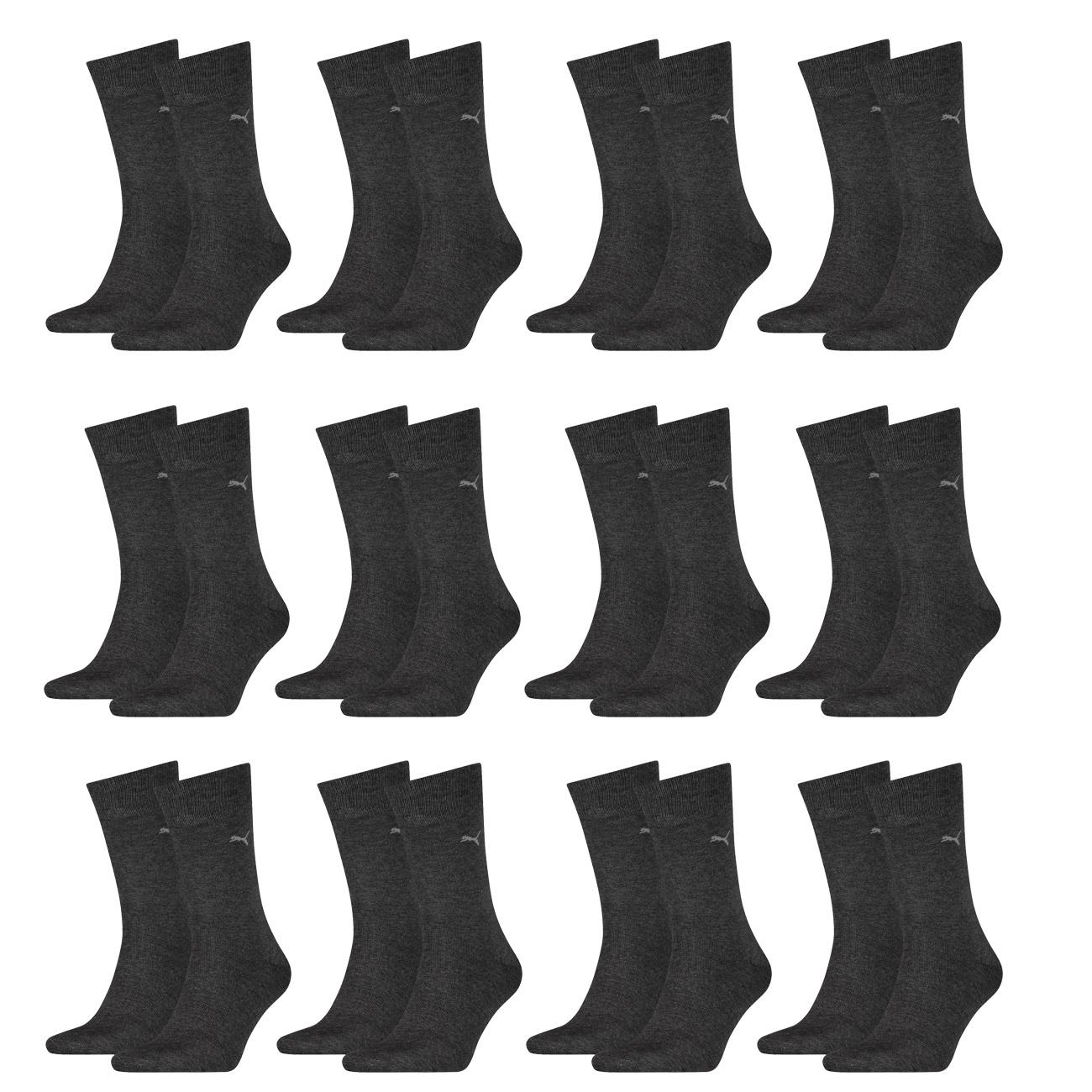 12+1 Paar Puma Business Socken in 6 Farben