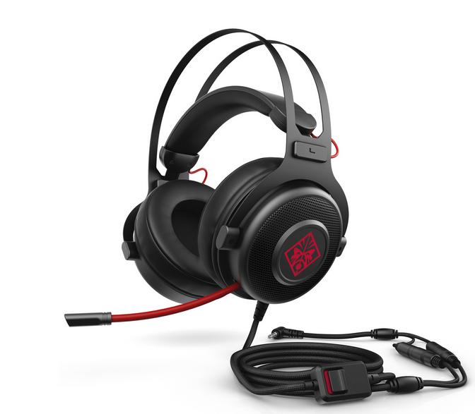 HP Omen Gaming Headset 800 [UPDATE: Mit dem Code HP5BW18 für nur 26,99€]
