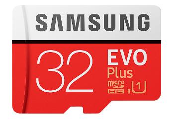 Samsung Evo plus 32 GB micro SD