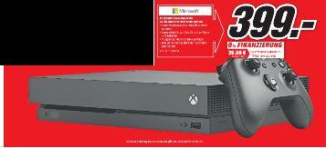 [Regional Mediamarkt Konstanz] Microsoft Xbox One X 1TB - Black für 399,-€