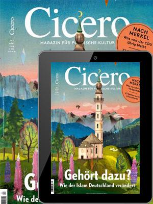 Cicero Abo (4 Ausgaben - Print + Digital) für 33,84 € mit 33,84 € Verrechnungsscheck