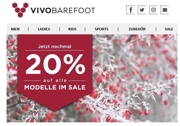 [Vivobarefoot] Barfußschuhe mit Sonderrabatt auf alles im Sale