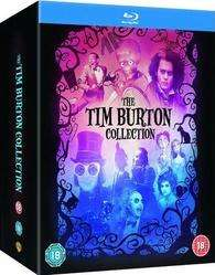 (6x DT. 2x O-TON) Tim Burton Collection (HMV Exclusive) 8-Movie Blu-ray Box Set / 34,68 € (+EUST) @HMV