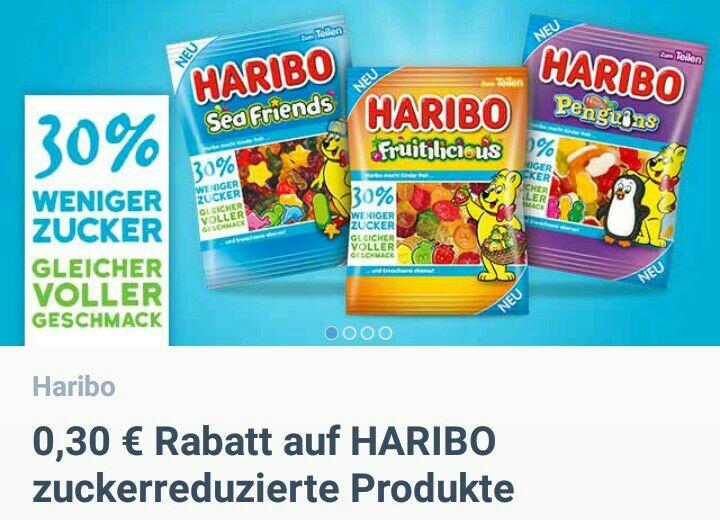 Haribo zuckerreduziert bei coupies -0,30€