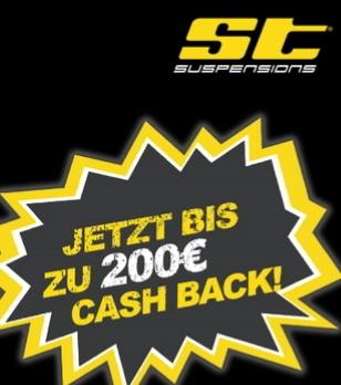 ST Gewindefahrwerke - bis zu 200€ Cashback