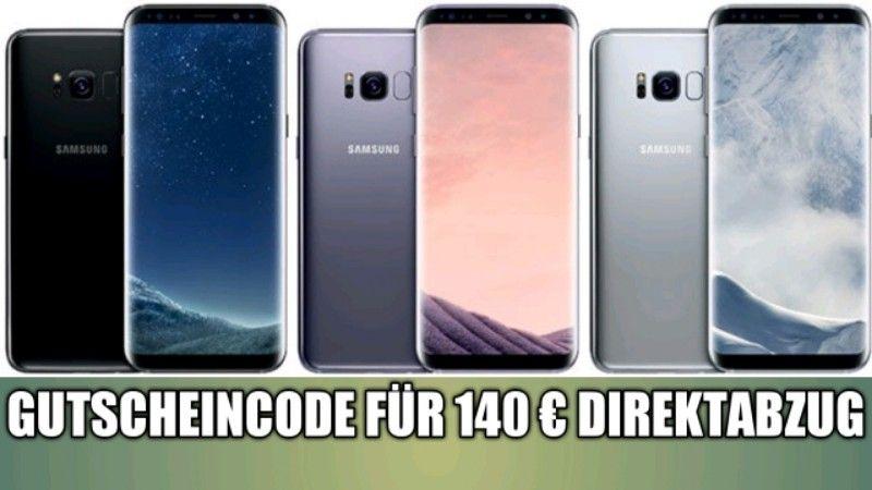 Saturn: Samsung Galaxy S8 Handy + Vertrag – 140 € Direktabzug mit Gutscheincode