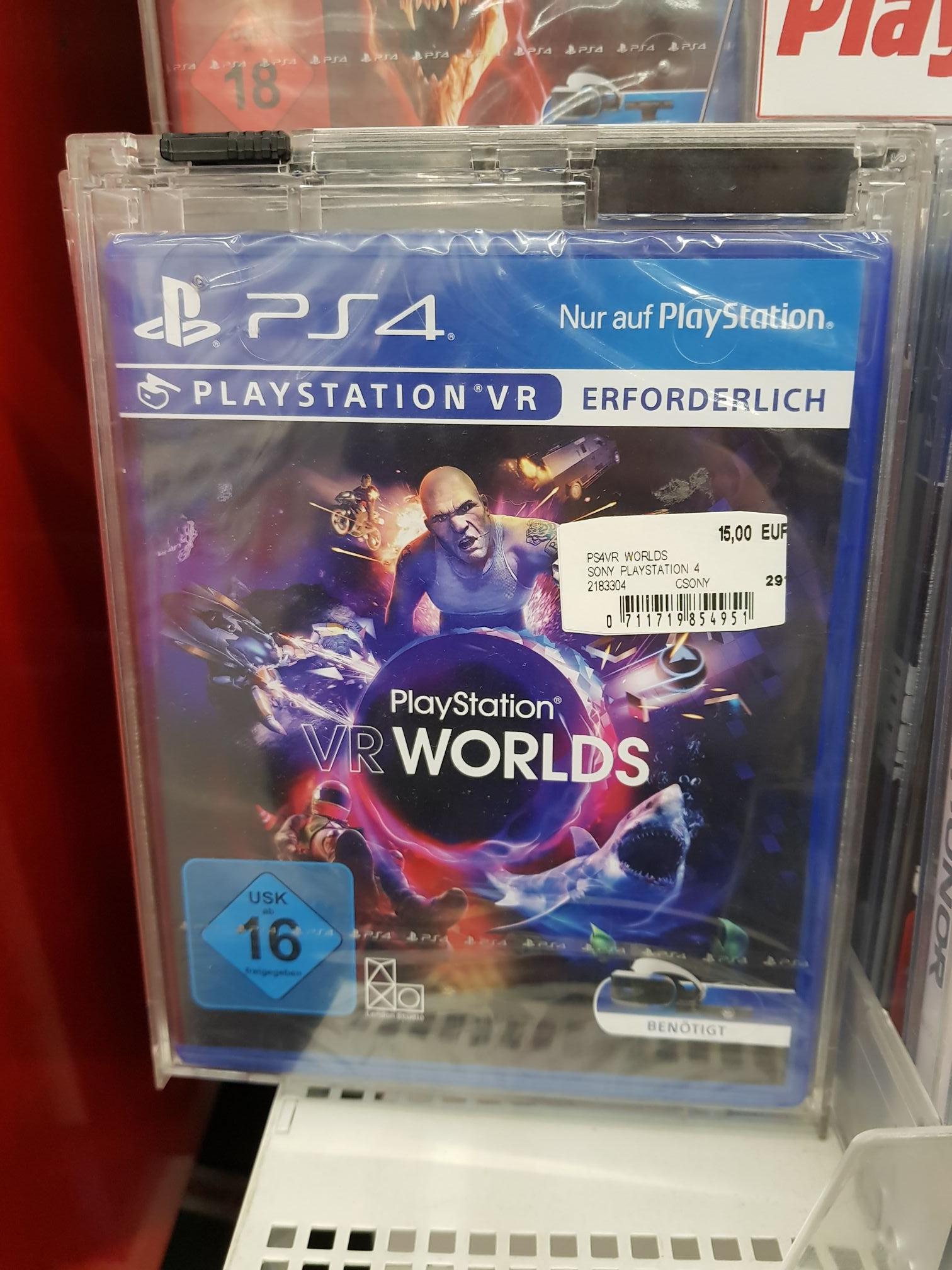 [Mediamarkt Düsseldorf] VR Worlds für PS4 PSVR und Driveclub VR