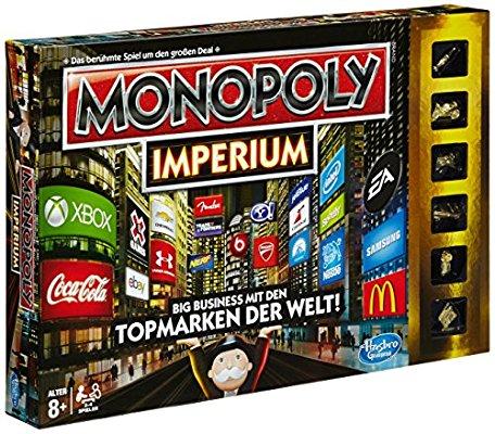 Monopoly Imperium Edition für 11,99€ + 2,99€vsk bei Alternate