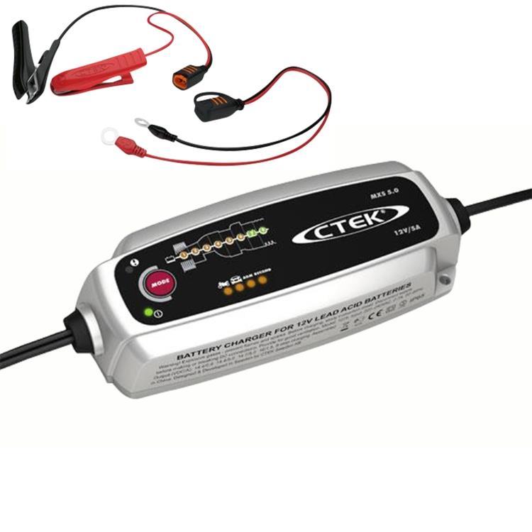 CTEK MXS 5.0 Batterie Ladegerät 12V KFZ Autobatterie 50€ dank Gutschein